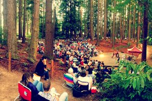 Shakespeare in the Park at Lynndale Park in Lynnwood WA