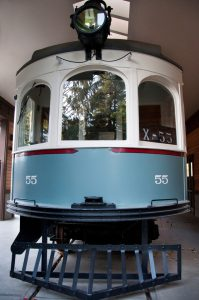 Interurban Trolley at Heritage Park Lynnwood Museums