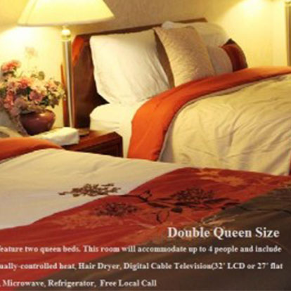 Hotel International Guest Room Queen