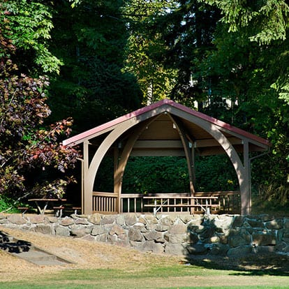 Wilcox Park Small Picnic Shelter
