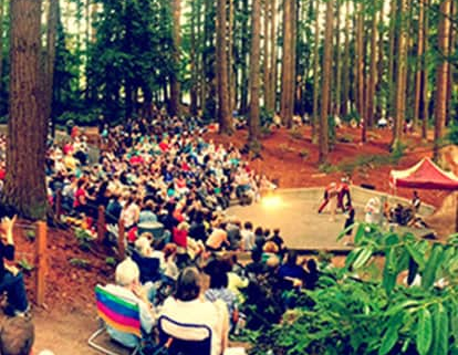 Shakespeare in the Park at Lynndale Park