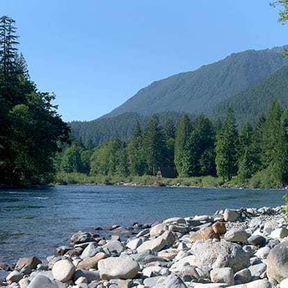 Skykomish River on the Cascade Loop