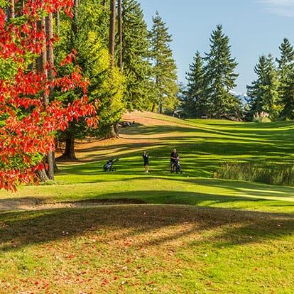 Lynnwood Golf Course Third Fairway