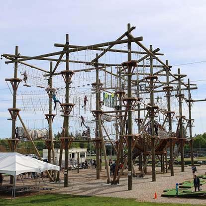 High Trek Adventures Ropes Course at Paine Field in Everett