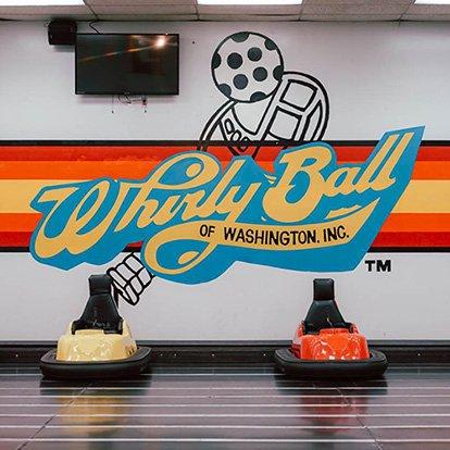 WhirlyBall bumper cars