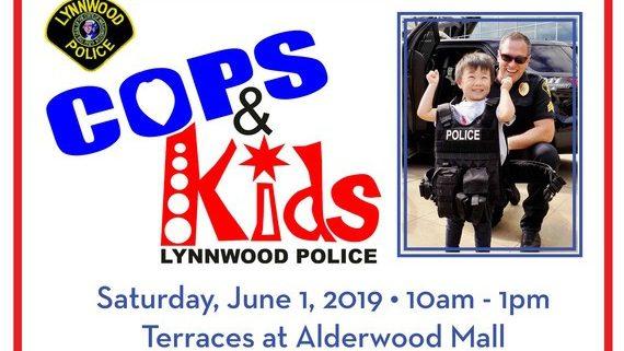 Cops and Kids Event at Alderwood Mall Lynnwood WA
