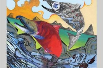 Skagit River Salmon Festival artwork
