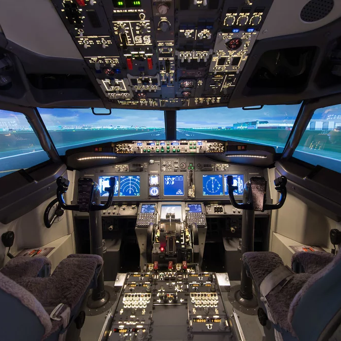 SkySim360 flight simulator