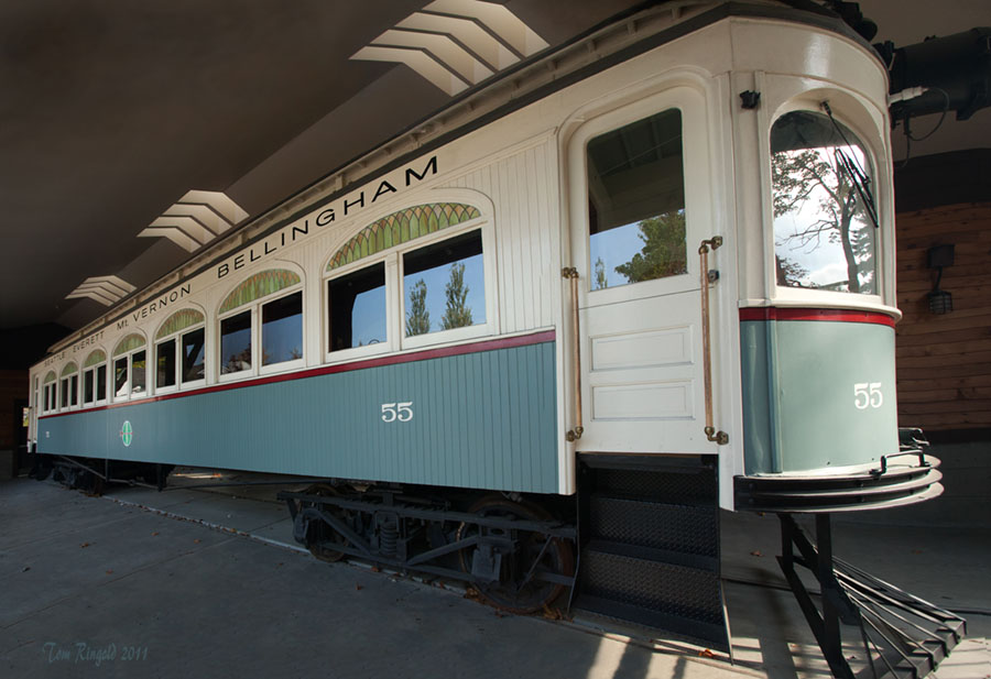 Interurban Trolley at Heritage Park