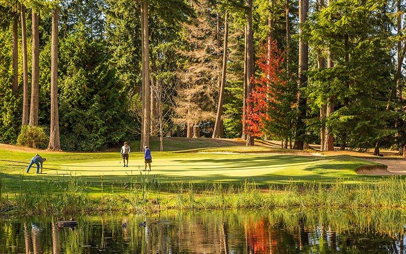 Lynnwood WA Golf Course