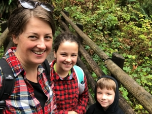 Family Hiking at Wallace Falls